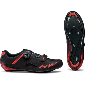 Northwave Core Plus Sko Herrer, black/red